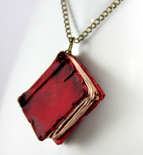 Red-Book-Necklace-Etsy