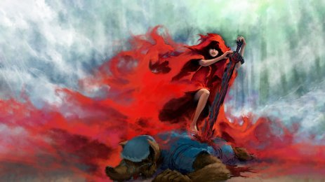 fantasy_art_artwork_girl_girls_women_woman_female_red_riding_hood_wolf_wolves_2880x1620